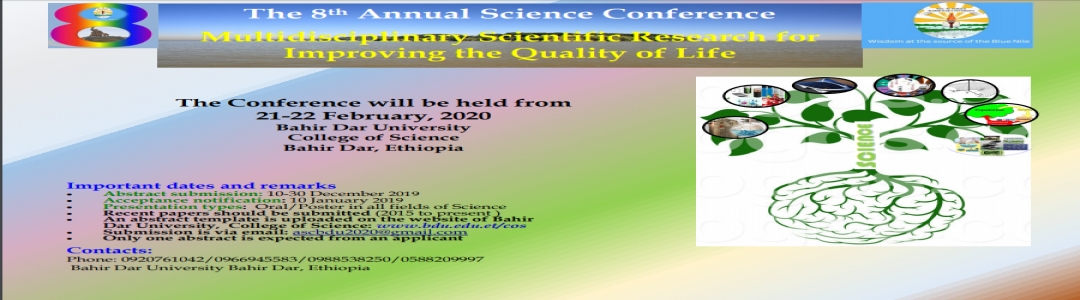 The 8th Annual Science Conference