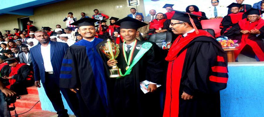 BDU graduation of 2018  students